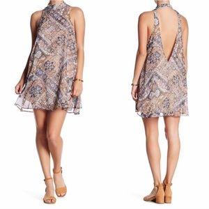 Show Me Your MuMu | V Open Back NWT Mini Dress